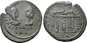 MOESIA INFERIOR. Tomis. Gordian III with Tranquillina (238-244). Ae 4½ Assaria.