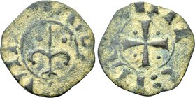 CRUSADERS. Principality of Antioch. Bohemund IV (second reign, 1215-1250). Ae Pougeoise.