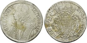 CROATIA. Republic of Ragusa (Dubrovnik). Tallero (1761-GB).