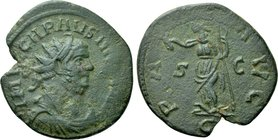 CARAUSIUS (286-293). Antoninianus. Uncertain mint.