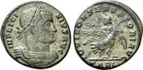 LICINIUS I (308-324). Follis. Arelate.
