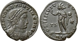 CONSTANTINE I THE GREAT (306-337). Follis. Lugdunum.