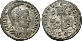 CONSTANTINE I THE GREAT (306-337). Follis. Thessalonica.