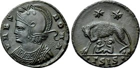 CONSTANTINE I THE GREAT (306-337). Commemorative Series. Follis. Siscia.