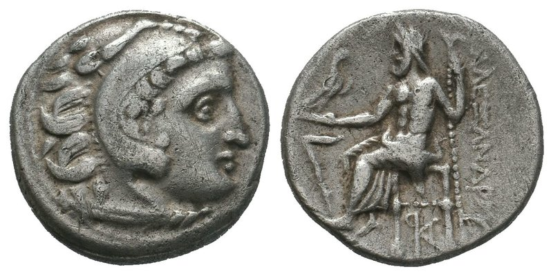 Alexander III the Great (336-323 BC). AR Drachm  Condition: Very Fine   Weight:4...