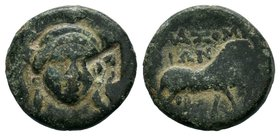 IONIA. Klazomenai. Ae (4th century BC).   Condition: Very Fine  Weight:3.86  Diameter:16mm From a Private UK Collection.