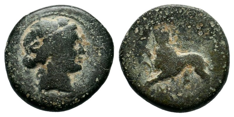 LYDIA. Sardes. Ae (Circa 200-133 BC).  Condition: Very Fine  Weight:4.88gr Diame...