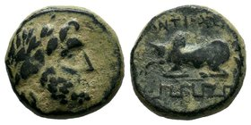 PISIDIA. Antioch. Ae (1st century BC).   Condition: Very Fine  Weight:4.61gr  Diameter:16mm From a Private UK Collection.