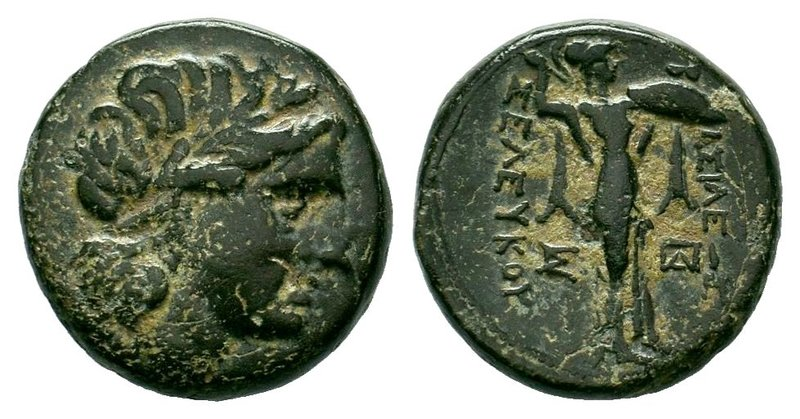 SELEUKID EMPIRE. Seleukos I Nikator. 312-281 BC. Æ. Antioch on the Orontes mint....