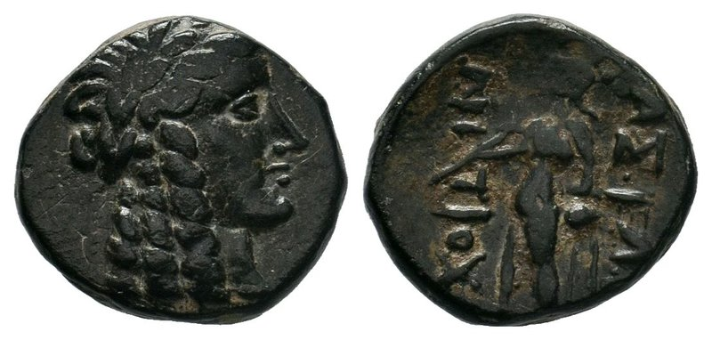 SELEUKID KINGS of SYRIA. 223-187 BC. Æ, Uncertain,  Condition: Very Fine  Weight...
