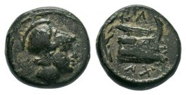 KINGS of MACEDON. Demetrios I Poliorketes. Bronze Æ  Condition: Very Fine  Weight: 2.83gr Diameter: 15.69mm