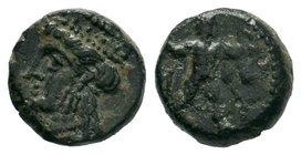 CYPRUS. Kition. Melekiathon (Circa 392/1-362 BC). Ae.  Condition: Very Fine  Weight: 1.93gr Diameter: 11.46mm  From a Private UK Collection.
