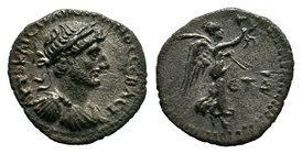 CAPPADOCIA, Caesaraea-Eusebia. Hadrian, 117-138. Hemidrachm .  Condition: Very Fine  Weight:1,67gr   Diameter: 15mm Property of a Dutch Collector