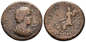 CILICIA, Mopsouestia-Mopsos. Julia Domna. Augusta, AD 193-217. Æ . Extremely RARE!   Condition: Very Fine  Weight:22,58gr  Diameter: 31mm From Coin Fa...