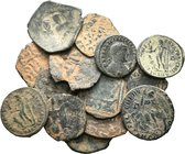 Lot of 15 x mixed roman coins / SOLD AS SEEN, NO RETURN ACCEPTED!!!