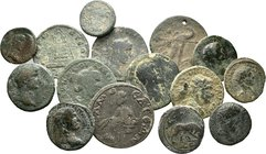 Lot of : 15 x mixed roman-greek coins / SOLD AS SEEN, NO RETURN ACCEPTED!!!