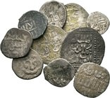 Lot of 10 x mixed islamic coins / SOLD AS SEEN, NO RETURN ACCEPTED!!!