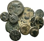 Lot of 10 x mixed roman - greek coins / SOLD AS SEEN, NO RETURN ACCEPTED!!!