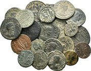 Lot of 22 x mixed roman coins / SOLD AS SEEN, NO RETURN ACCEPTED!!!