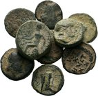 Lot of 10 x mixed greek coins / SOLD AS SEEN, NO RETURN ACCEPTED!!!