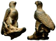 Roman Eagle Statue clasping goat head, Condition: Very Fine  Weight: 25,55 gr Diameter: 35,05mm