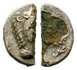KINGS of MACEDON. Alexander III 'the Great'. 336-323 BC. Cut coin!  Condition: Very Fine  Weight: 7.63 gr Diameter: 27.04 mm