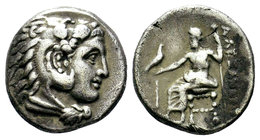 KINGS of MACEDON. Alexander III 'the Great'. 336-323 BC. AR Drachm  Condition: Very Fine  Weight: 4.17 gr Diameter: 16.36 mm