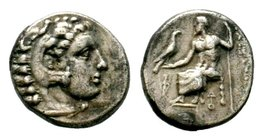 KINGS of MACEDON. Alexander III 'the Great'. 336-323 BC. AR Drachm  Condition: Very Fine  Weight: 4.20 gr Diameter: 17.36 mm