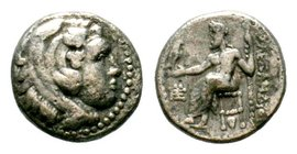 KINGS of MACEDON. Alexander III 'the Great'. 336-323 BC. AR Drachm  Condition: Very Fine  Weight: 4.12 gr Diameter: 16.36 mm