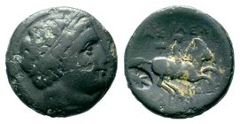 KINGS of MACEDON. Philip III Arrhidaios. 323-317 BC. AE bronze  Condition: Very Fine  Weight: 4.73 gr Diameter: 18.38 mm