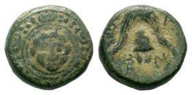 KINGS of MACEDON. Philip III Arrhidaios, 323-317 BC. AE bronze  Condition: Very Fine  Weight: 5.18 gr Diameter: 15.41 mm