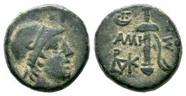 Pontus. Amisos 120-63 BC. AE bronze  Condition: Very Fine  Weight: 7.83 gr Diameter: 19.73 mm