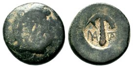 Ancient Greek Uncertain Countermark,  Condition: Very Fine  Weight: 7.65 gr Diameter: 20.65 mm