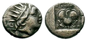 ISLANDS OFF CARIA, Rhodos. Rhodes. Circa 188-170 BC. Drachm  Condition: Very Fine  Weight: 2.54 gr Diameter: 14.61 mm