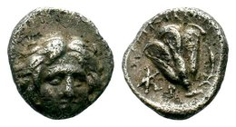 ISLANDS OFF CARIA, Rhodos. Rhodes. Circa 188-170 BC. Drachm  Condition: Very Fine  Weight: 1.52 gr Diameter: 11.90 mm