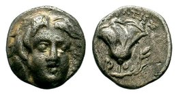 ISLANDS OFF CARIA, Rhodos. Rhodes. Circa 188-170 BC. Drachm  Condition: Very Fine  Weight: 1.16 gr Diameter: 11.09 mm