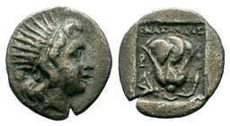 ISLANDS OFF CARIA, Rhodos. Rhodes. Circa 188-170 BC. Drachm  Condition: Very Fine  Weight: 2.41 gr Diameter: 16.20 mm