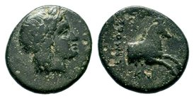 Ionia. Kolophon circa 330-280 BC.AE bronze  Condition: Very Fine  Weight: 2.00 gr Diameter: 14.87 mm
