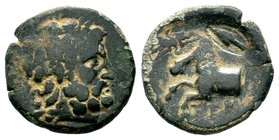 Pisidia. Termessos 100-0 BC. AE bronze Condition: Very Fine  Weight: 4.76 gr Diameter: 19.89 mm