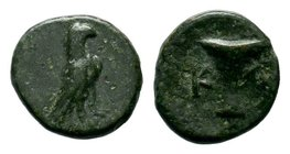 Aeolis. Kyme. 320-250 BC.AE bronze  Condition: Very Fine  Weight: 0.81 gr Diameter: 10.56 mm