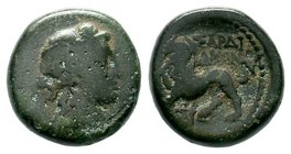 LYDIA. Sardes. Circa 133 BC-AD 14. AE bronze  Condition: Very Fine  Weight: 5.87 gr Diameter:14.25 mm