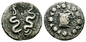 Mysia.Pergamon. c. 130-67 BC.AR Cistophor  Condition: Very Fine  Weight: 11.85 gr Diameter: 22.16 mm