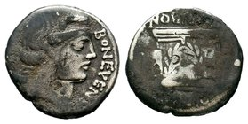 L. Scribonius Libo AR Denarius. Rome, 62 BC.   Condition: Very Fine  Weight: 3.65 gr Diameter: 19.57 mm