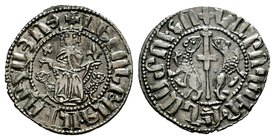Armenia. Levon I (1187-1219). AR Tram  Condition: Very Fine  Weight: 2.93 gr Diameter: 22.33 mm