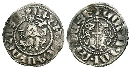 ARMENIA, Cilician Armenia. Royal. Oshin, 1308-1320. Tram  Condition: Very Fine  Weight: 2.88 gr Diameter: 23.22 mm