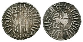 Armenia, Hetoum I AR Tram. AD 1226-1270.  Condition: Very Fine  Weight: 2.95 gr Diameter: 21 mm