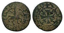 Smpad, 1296-1298 AD. Copper pogh.  Condition: Very Fine  Weight: 2.09 gr Diameter: 19 mm