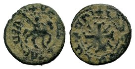 Smpad, 1296-1298 AD. Copper pogh.  Condition: Very Fine  Weight: 2.35 gr Diameter: 19 mm