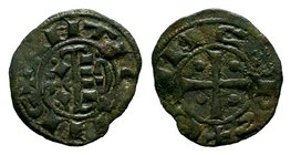 Crusader States, Jarusalem. Ar Denier, A.D. 1104-1112.  Condition: Very Fine  Weight: 0.89 gr Diameter: 18 mm