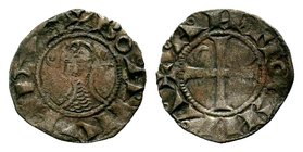 CRUSADERS, Antioch. Bohémond III. Minority, 1149-1163. AR Denier  Condition: Very Fine  Weight: 0.73 gr Diameter:17 mm